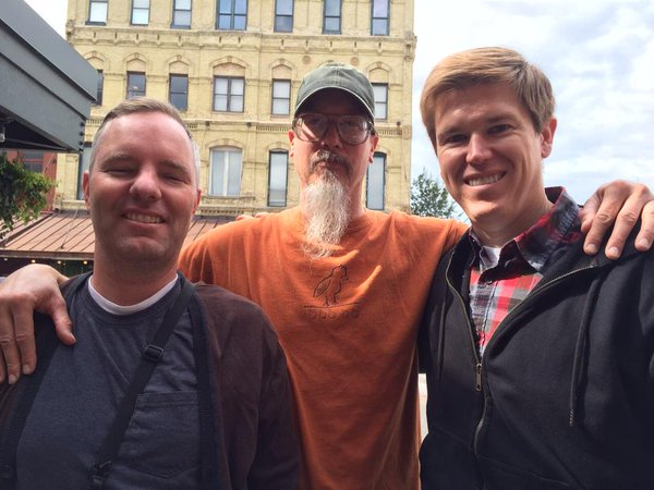Tim Irwin, Mark and Jeremy.