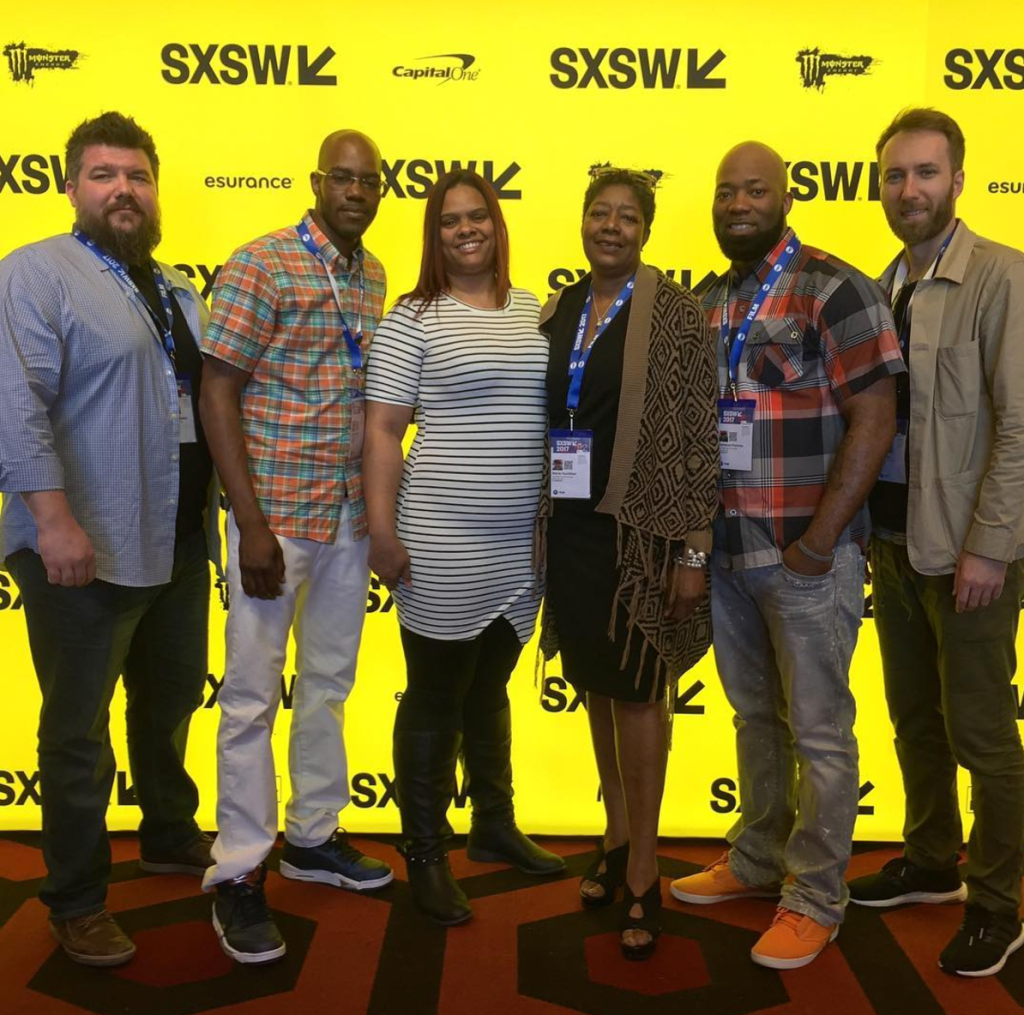 The premiere of BLOOD IS AT THE DOORSTEP at SXSW.
